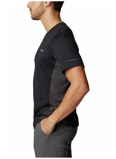Columbia Columbia Erkek Siyah Bisiklet Yaka T-Shirt Siyah